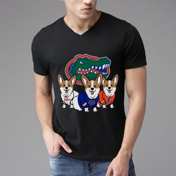 Corgi And Florida Gators NFL shirt