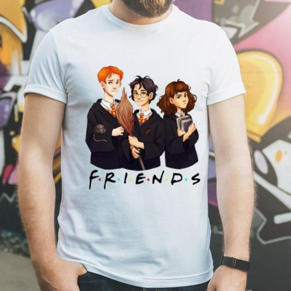 Friends Harry Potter Ron Weasley And Hermione Granger shirt