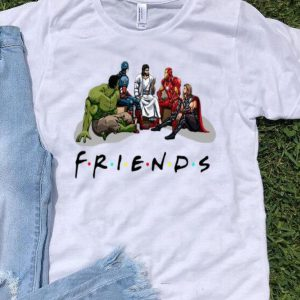 Friends Jesus And Avengers shirt