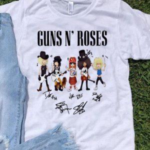 Guns N' Roses Hard Rock Band Signatures shirt