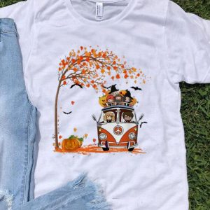 Harry Potter Chibi Character Halloween Hippie Car Autumn shirt