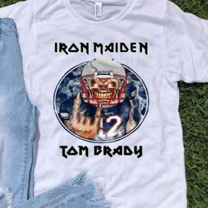 Iron Maiden Tom Brady New England Patriots shirt