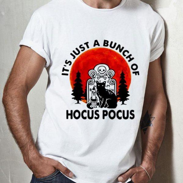 It's Just A Bunch Of Hocus Pocus Halloween Black Cat shirt