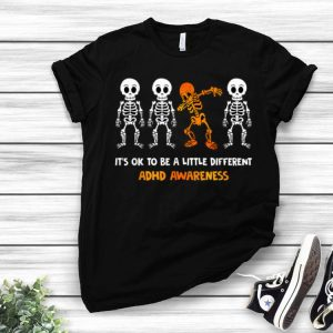 It's Ok To Be Little Different ADHD Awareness shirt