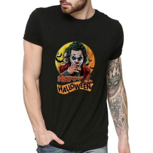 Joaquin Phoenix Joker Happy Halloween shirt