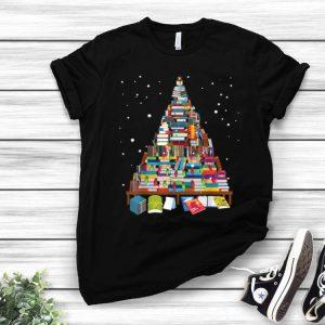 Merry Christmas Library Book Christmas Tree shirt