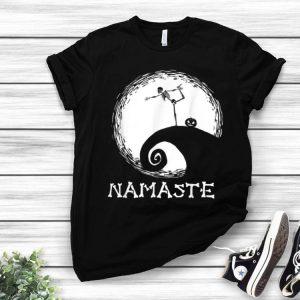 Namaste Skeleton Yoga The Nightmare Before Christmas Halloween shirt