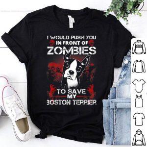 Official Boston Terrier Halloween Costume For Boxer Dog lover shirt