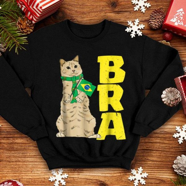 Official Brazil Cat Lover, Brasil Birthday Christmas 2018 shirt