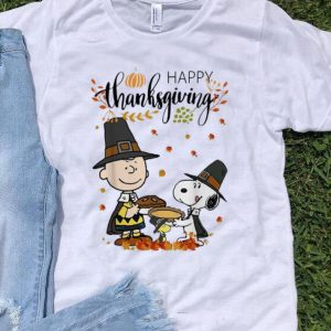 Peanuts Snoopy And Charlie Brown Happy Thanksgiving shirt