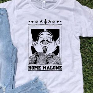 Post Malone Home Malone Ugly Christmas shirt