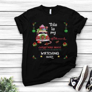 Santa Car This Is My Hallmark Christmas Movie Watching shirt
