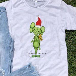 Santa Grinch Kaws Christmas shirt