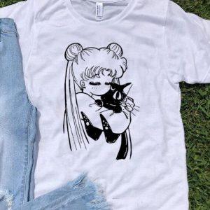 Serena Luna Sailor Black Cat shirt