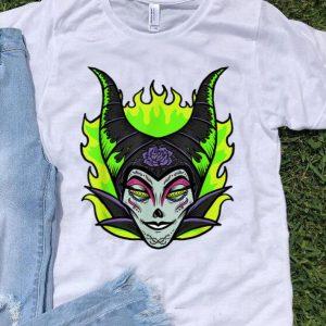 Sleeping Beauty Maleficent Sugar Skull Halloween shirt