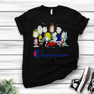 Snoopy Peanuts Charlie Brown And Friends Champion shirt