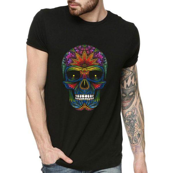 Sugar Skull Day Of The Dead Dia De Muertos shirt