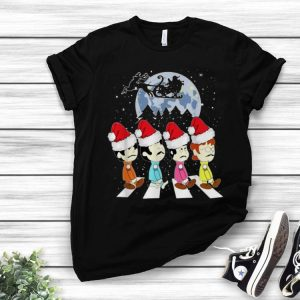 The Beatles The Abbey Road Merry Christmas shirt