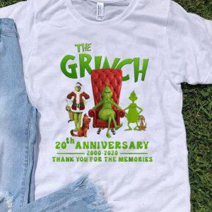 The Grinch 20th Anniversary 2000-2020 Christmas Grinch shirt