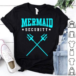 Top Merman Mermaid Security shirt