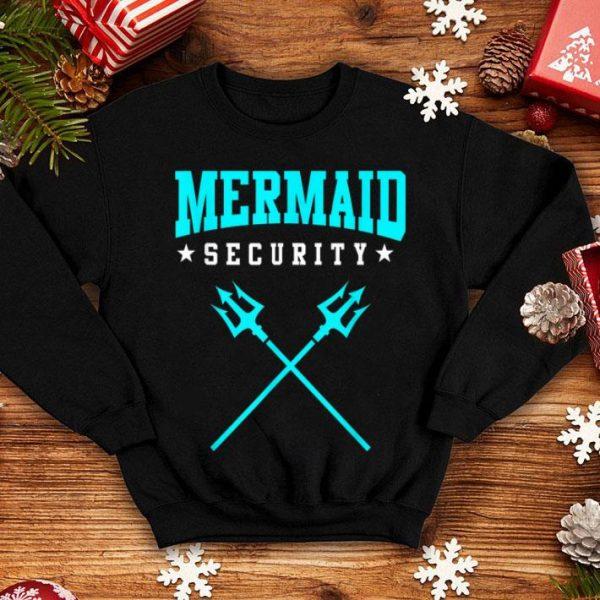 Top Merman Mermaid Security shirt