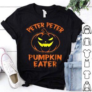 Top Peter Peter Pumpkin Eater Halloween Costume Couples shirt