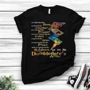 We Mastered The Hallows We Are The Dumbledore's Army shirt