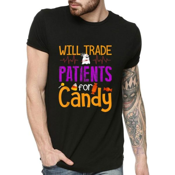 Will Trade Patients For Candy Boo Nurse Costume shirt