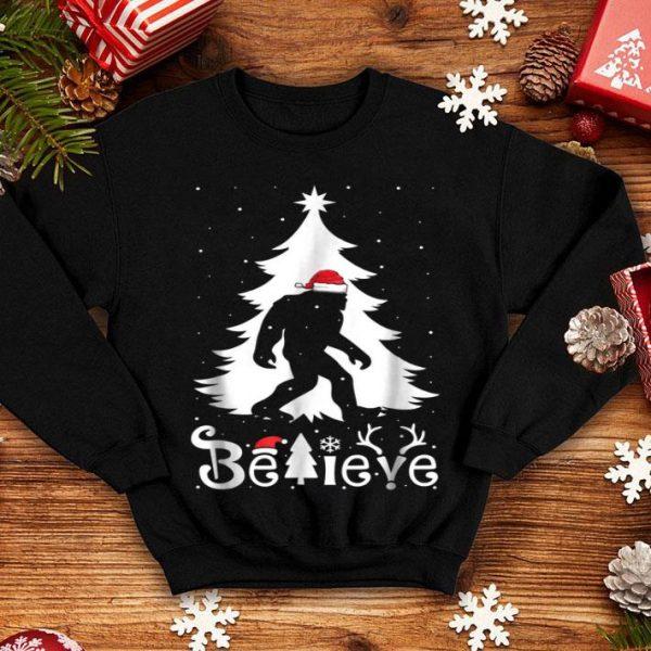Awesome Bigfoot Funny Christmas Gift For Men Boys Girls Kids shirt