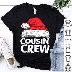 Awesome Cousin Crew Santa Christmas Family Matching Pajamas shirt
