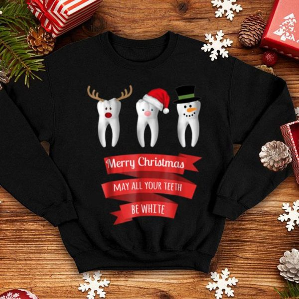 Awesome Dentist Funny Christmas Thanksgiving shirt