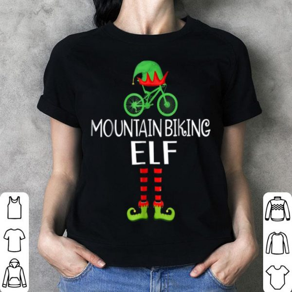 Awesome Funny For Who Lover Mountain Biking ELF. Xmas Gifts shirt
