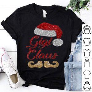 Awesome Funny santa gigi claus Merry Christmas gift shirt