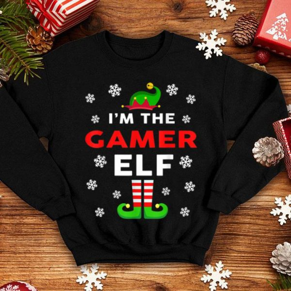Awesome I Am The Gamer Elf Christmas Sweater Gift Funny shirt