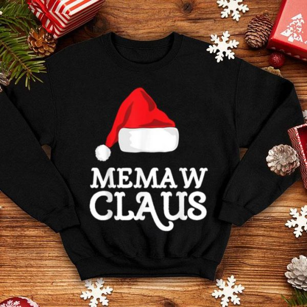 Awesome Memaw Claus Christmas Family Matching Pajama Hat sweater