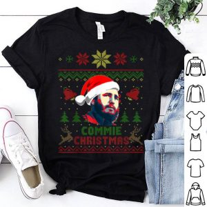 Beautiful Fidel Castro Commie Christmas Funny Christmas shirt