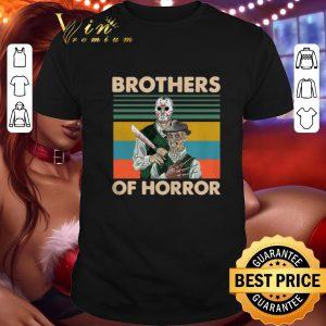 Best Jason Voorhees Brothers Of Horror Freddy Krueger Vintage shirt