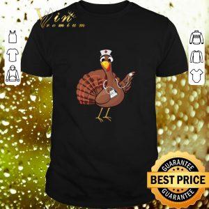 Cheap Chicken Turkey nurse Thanksgiving shirt