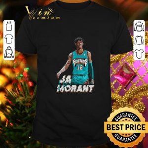 Cheap Ja Morant 12 Memphis Grizzlies Basketball signature shirt