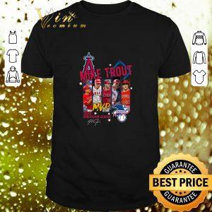 Cheap Mike Trout Mvp 2019 American League signature Los Angeles Angels shirt
