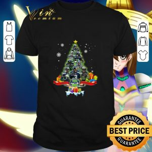 Cheap Seattle Seahawks player signatures Christmas tree shirt