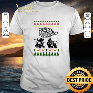 Funny Creedence Clearwater Revival Ugly Christmas shirt