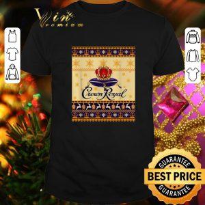 Funny Crown Royal Christmas ugly shirt