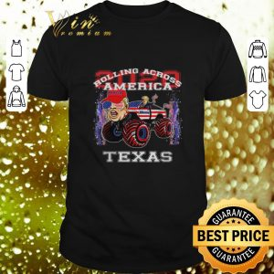 Funny Donald Trump Rolling Across America Texas 2020 Republican shirt
