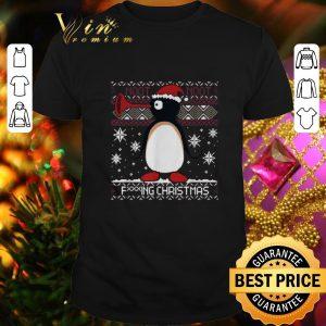Funny Penguin noot noot fucking Christmas shirt
