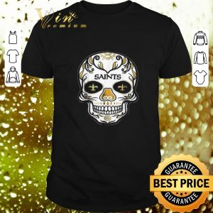 Funny Sugar Skull New Orleans Saints shirt