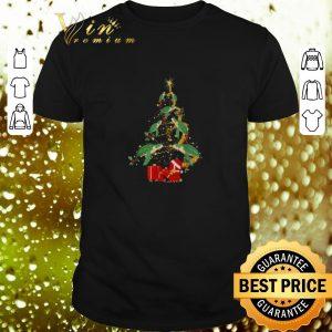 Funny Turtles Christmas tree gift shirt