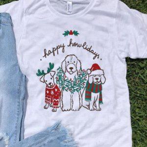 Happy Howlidays Dog Lover Christmas shirt