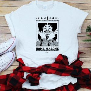Hot Post Malone Ugly Christmas Home Malone shirt