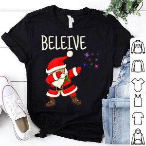 Hot Santa Believe Xmas Christmas Funny gift shirt